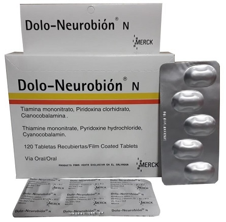 DOLO NEUROBION TABLETAS, ANALGESICO Y ANTIINFLAMATORIO